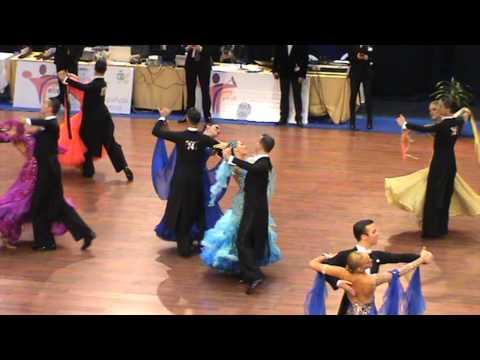 Slow Fox - Adrian Esperon y Patricia Martinez Campeonato de España 2014 10 Bailes 1ª ronda