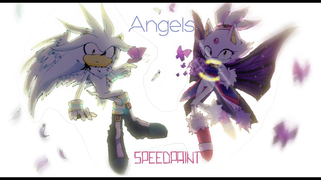 (SPEEDPAINT) Fallen Angel - YouTube