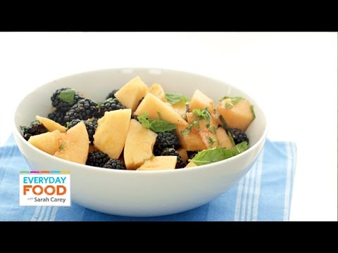 3 Light and Sweet Fruit Desserts Everyday Food with Sarah Carey