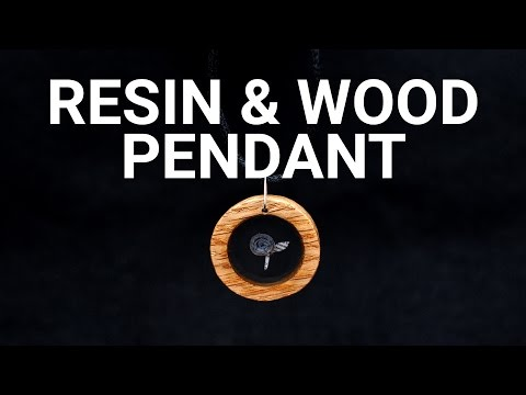 How To Make a Resin & Wood Pendant Necklace