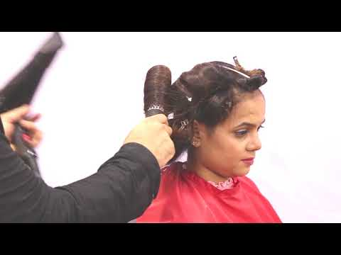 Easy Haircut In 2 Steps  Rubberband Technique Sam and Jas Tutorial in Hindi