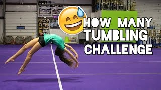 How Many Tumbling Challenge