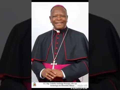 La sortie musclée de l'archevêque coadjuteur de Kinshasa à Radio Vatican sur la situation en RDC !