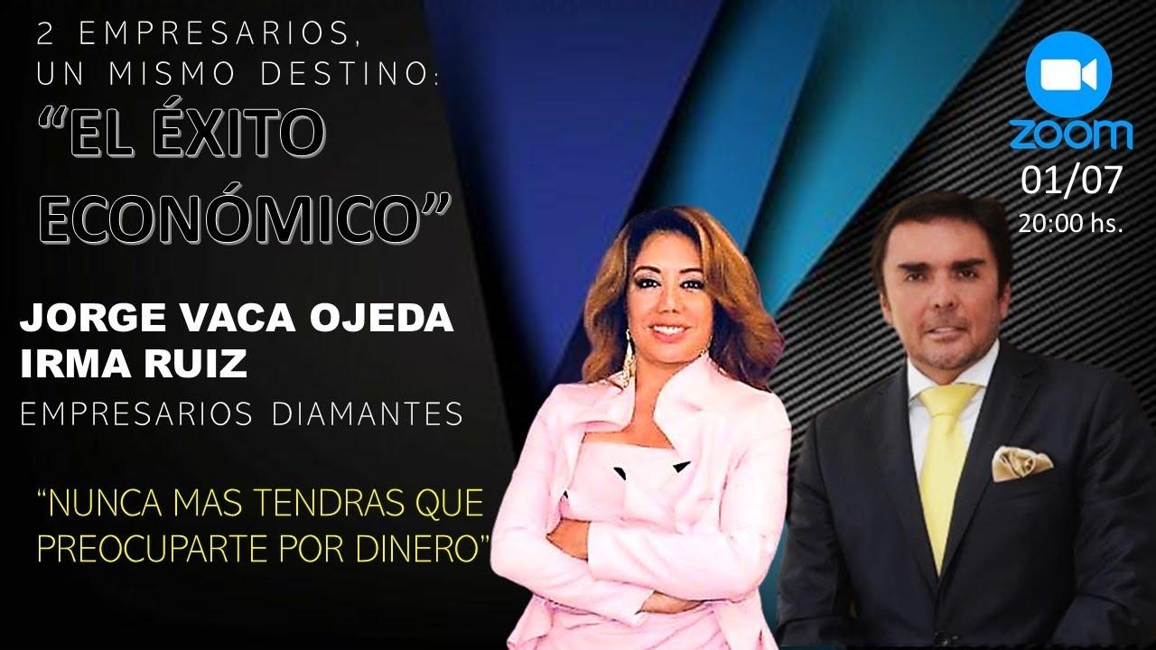 IRMA RUIZ Y JORGE VACA NEGOCIO MILONARIO