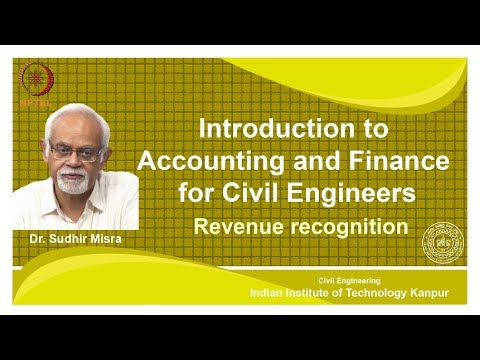 noc18-ce39 Lec 32- Revenue Recognition