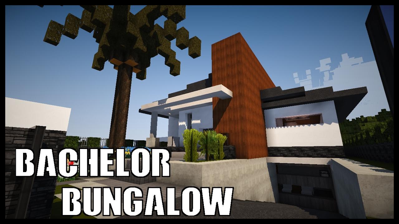 Minecraft Bachelor Bungalow House Tour