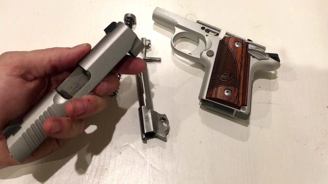 What happened to my kimber micro 9!!