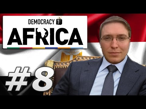 Democracy 3: Africa | Egypt - Year 8