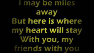 Farewell (To You My Friend) Lyrics