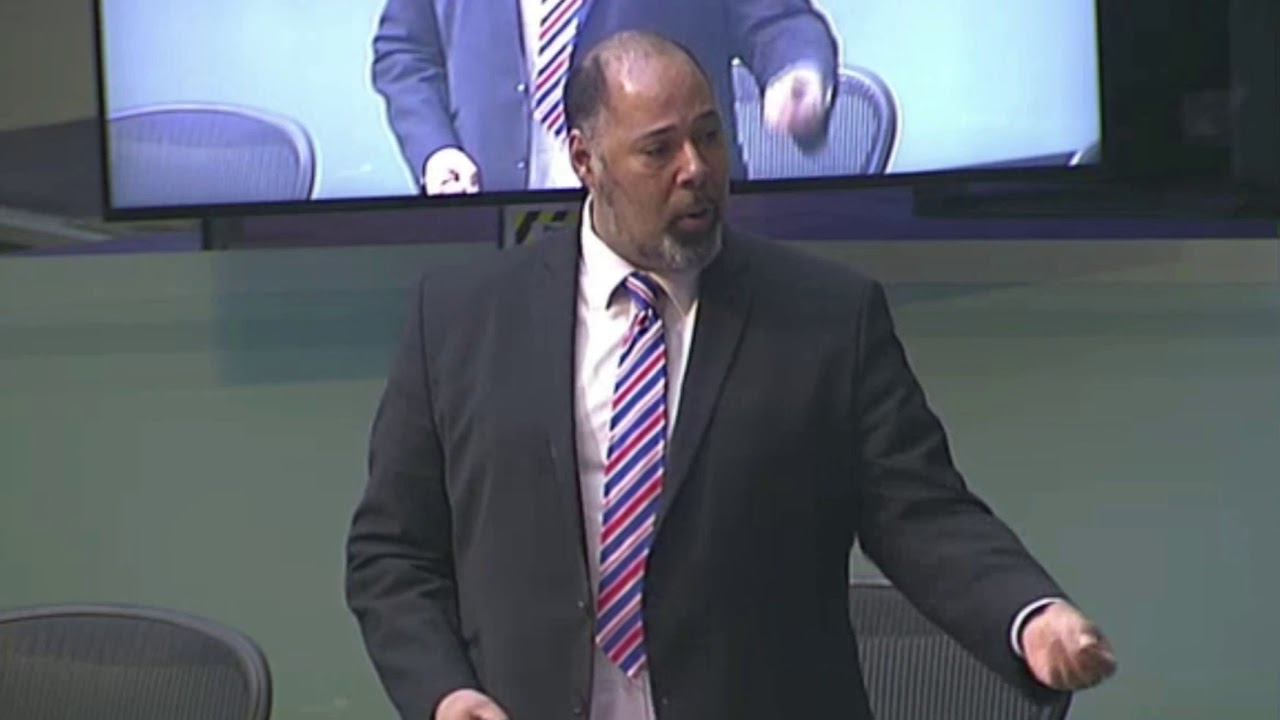 "David Kurten tells the London Assembly: ""There is no climate emergency!"""