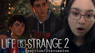 LIFE IS STRANGE 2 TRAILER REACTION (Episode 1 Discussion/Speculation)