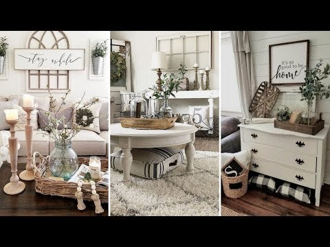 ❤DIY Farmhouse style Living room decor Ideas❤ | Home decor & Interior design| Flamingo Mango