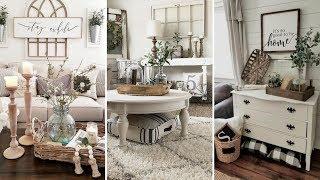 ❤DIY Farmhouse style Living room decor Ideas❤ | Home decor & Interior design| Flamingo Mango