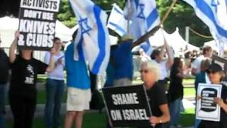 StandWithUs/ SF Voices for Israel advocates threaten Jewish peace activists