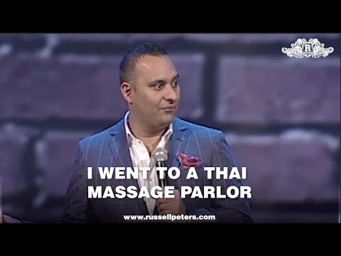 I Went To A Thai Massage Parlor | Russell Peters
