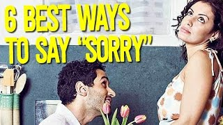 Scientists Reveal The 6 Best Ways To Say You're Sorry