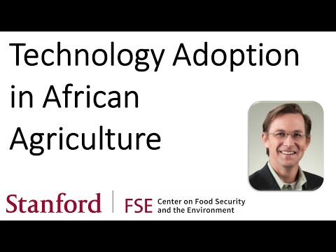 Technology Adoption in African Agriculture - Craig McIntosh