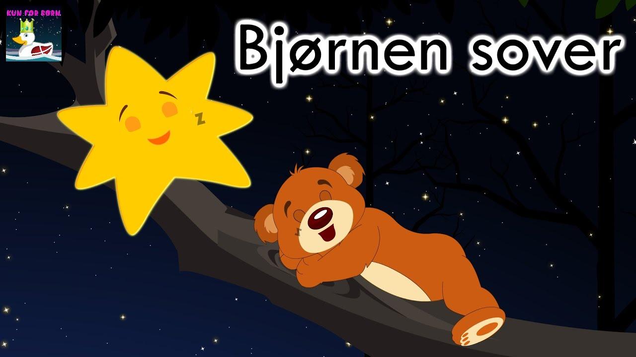 Bjørnen sover |  Danske Børnesange med mera | 26 minutter mix med tekst