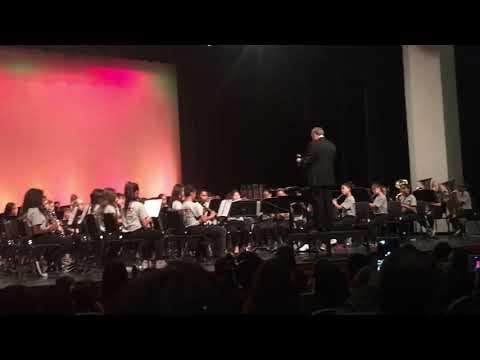 Day Creek Intermediate 2017 winter concert Lexington March