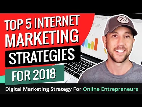 Top 5 Internet Marketing Strategies For 2018 - Digital Marketing Strategy For Online Entrepreneurs
