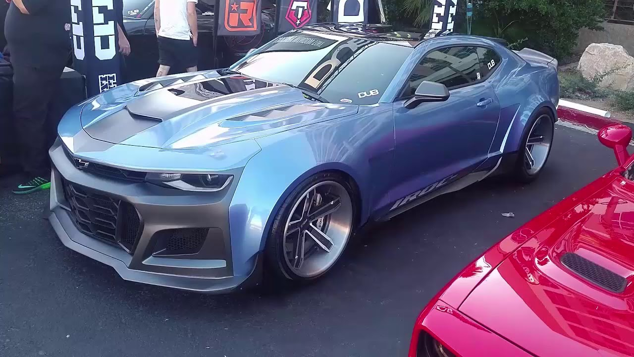 OFFICIAL **** 2019 Camaro IROC Z28 - YouTube