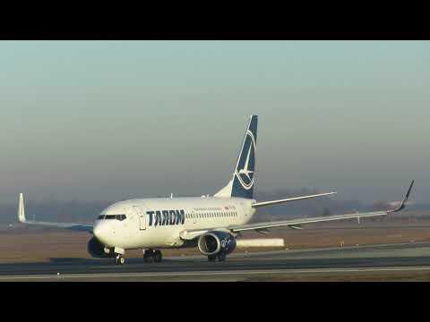 Tarom YR-BGI Boeing 737-78J - Bucharest Airports