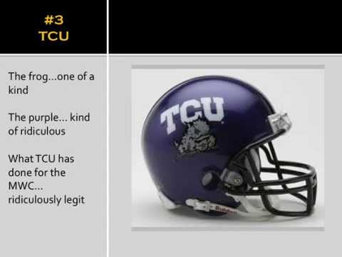 The Rankings - Helmets of the Mountain West Conference