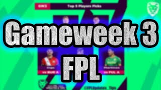 Gameweek 3 Preview ⚽ FPL 20/21