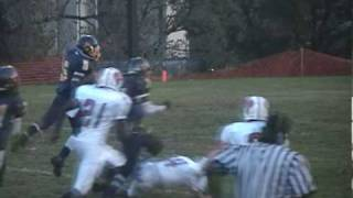 ANTHONY LEWIS 2009 Hyde Leadership Football Highlights