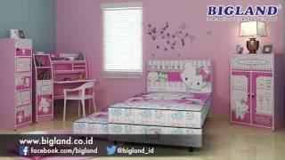 Bigland Springbed Hello Kitty