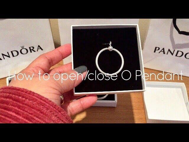 Pandora O Pendant | How to Open/Close O Pendant | Reflexions Mesh ...