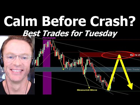 The Calm Before the Crash? My Favorite Trades for Tuesday from YouTube · Duration:  43 minutes 44 seconds