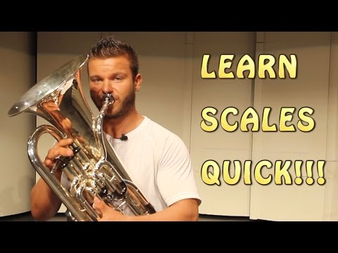 FUN and QUICK way of learning SCALES