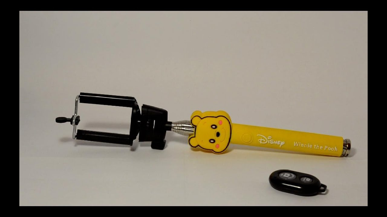 iphone winnie the pooh selfie stick youtube. Black Bedroom Furniture Sets. Home Design Ideas