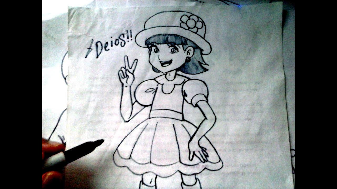 Mira Y Animate a Dibujar A LA NIÑA LINDA DEL CHAVO ANIMADO XDEIOS ...