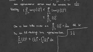 12.2 - Samband mellan summor och integraler