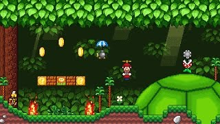 Super Mario Bros. X (SMBX 1.4.3) Custom Level - Koopa