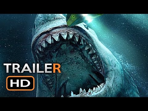 THE MEG International Trailer 2 2018 Jason Statham, Ru Rose Megalodon Shark Movie HD