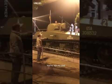 Arturze, wyłaź z czołgu