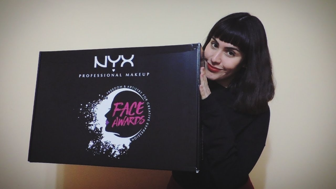 Unboxing Nyx Professional Makeup Chile Face Awards 2018 Top 30