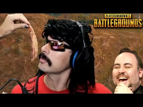 Doc's Wife goes CRAZY with Food and Funny Moments on PUBG!