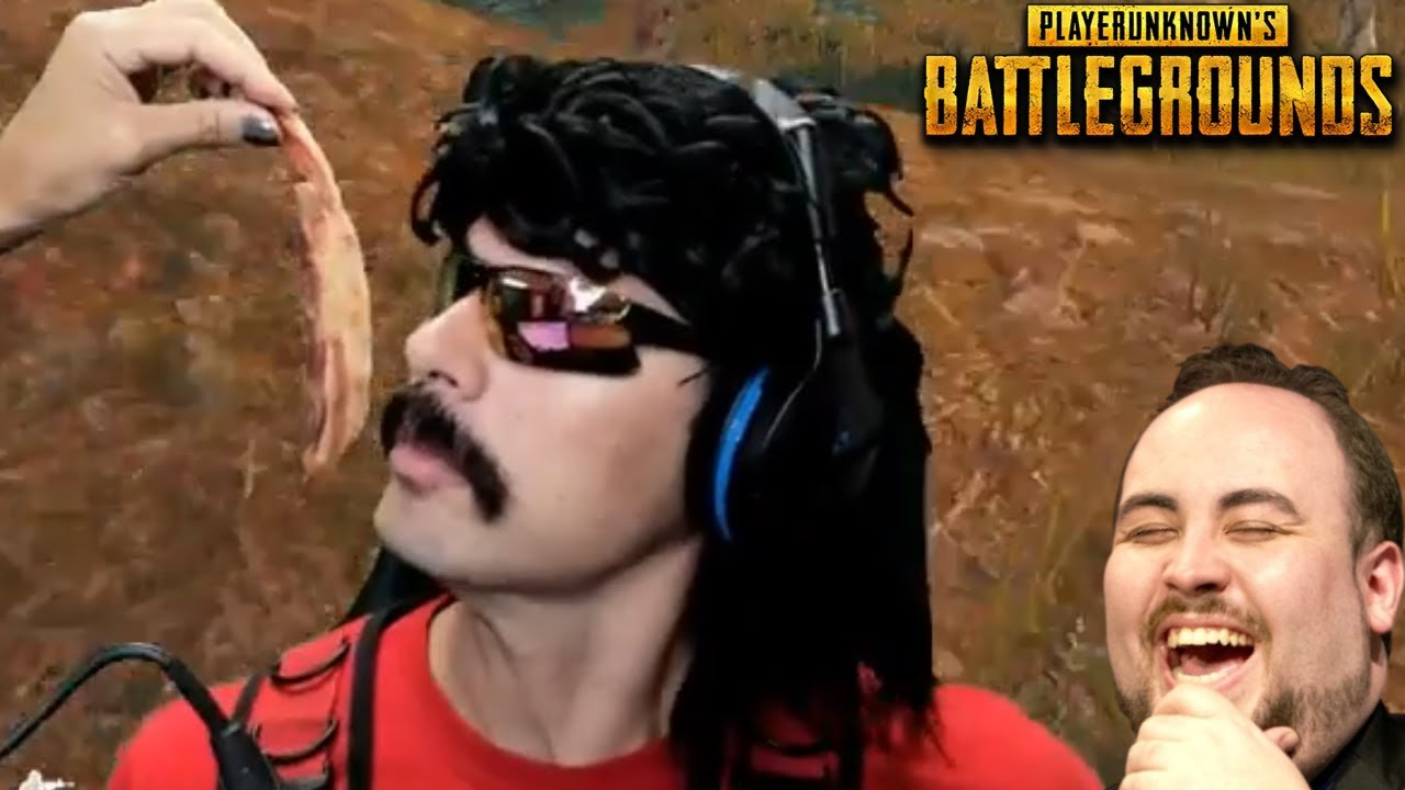 DrDisRespect's Wife goes CRAZY with Food and Funny Moments on PUBG!