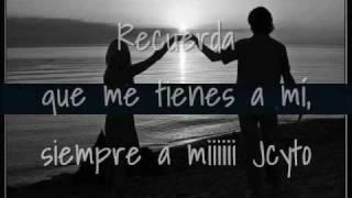 Recuerda Que Me Tienes A Mi-Gloria Trevi-letra thumbnail