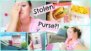 SOMEONE STOLE MY PURSE?!