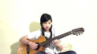 (Painted skin OST) Họa Tâm (Cover: Virginia Nguyen - Bé Mẫn) Guitar Solo