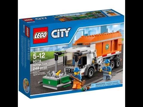 Klocki Lego City 60118 śmieciarka Instrukcja Składania Youtube