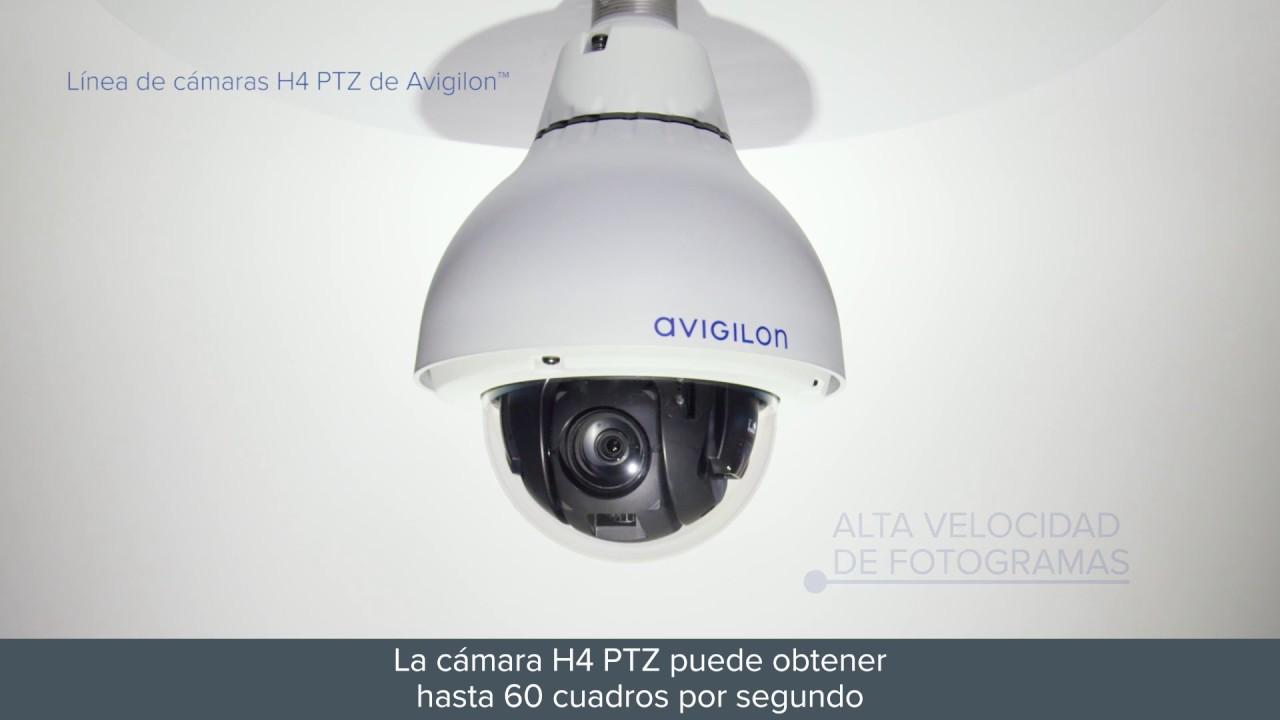 Cámaras H4 PTZ De Avigilon - YouTube