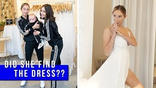 Went Wedding Dress Shopping (for Aurora) I Olivia Culpo