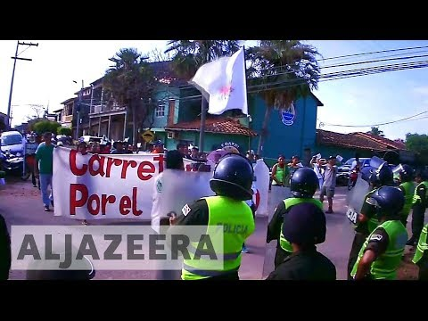 Protests in Bolivia against renewed plans for Tipnis rainforest highway