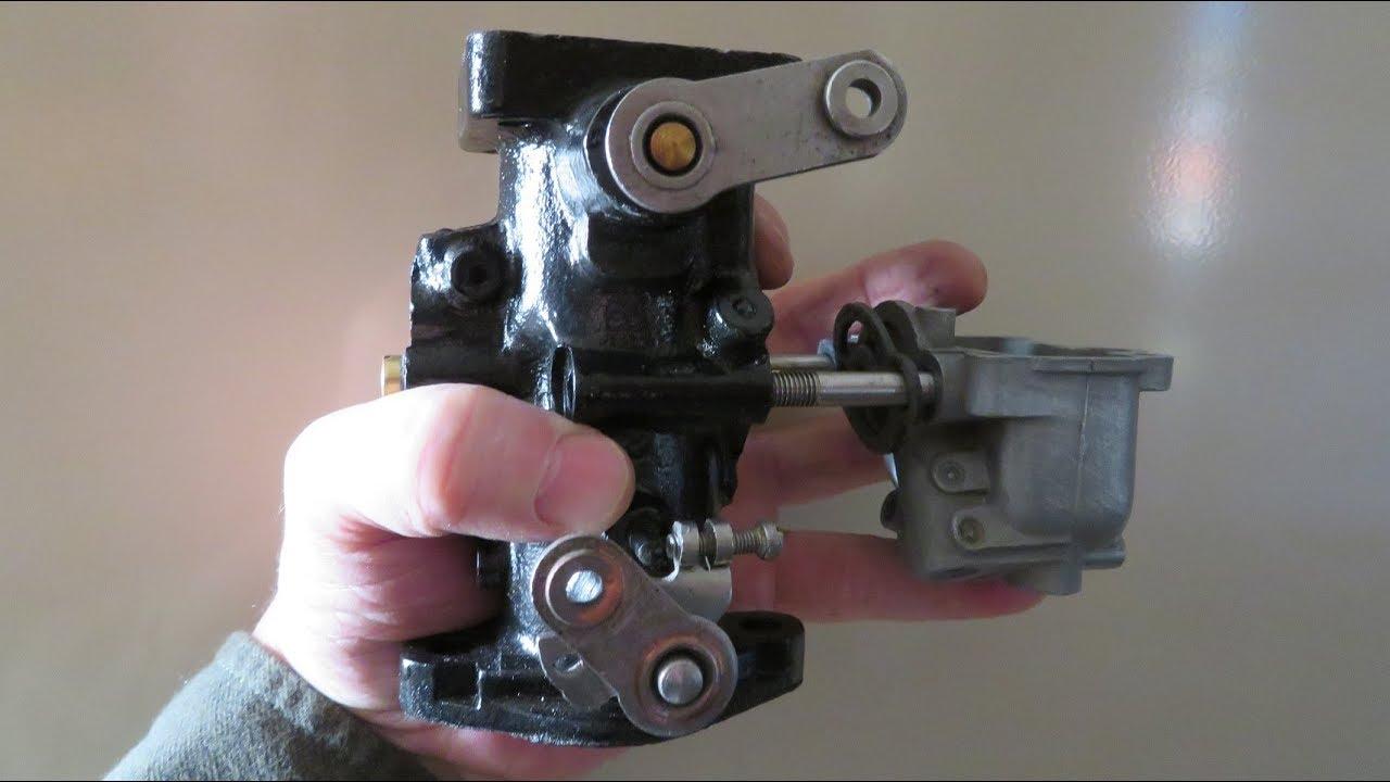 1941 Caterpillar D2 5J Tractor Rebuild Part 1 Pony Carburetor & Magneto